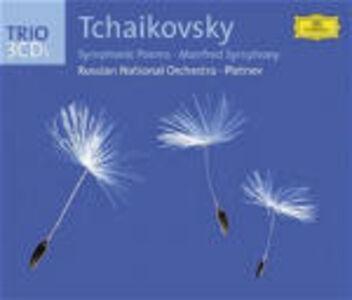 CD Poemi sinfonici di Pyotr Il'yich Tchaikovsky