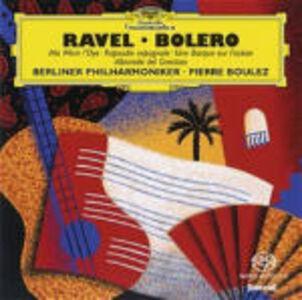 CD Boléro - Ma mère l'Oye - Rapsodia spagnola - Une barque sur l'océan - Alborada del gracioso di Maurice Ravel