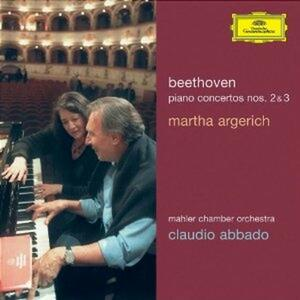 Concerti per pianoforte n.2, n.3 - CD Audio di Ludwig van Beethoven,Martha Argerich,Claudio Abbado