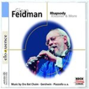 Foto Cover di Rhapsody, CD di Giora Feidman, prodotto da Eloquence