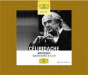 Sinfonie n.3, n.4, n.5, n.7, n.8, n.9 - CD Audio di Anton Bruckner,Sergiu Celibidache,Radio Symphony Orchestra Stoccarda