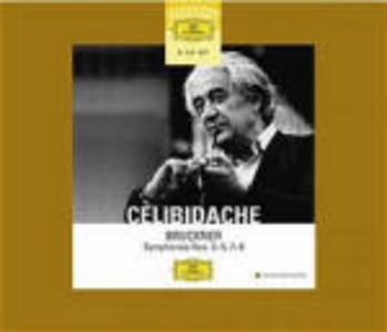 CD Sinfonie n.3, n.4, n.5, n.7, n.8, n.9 di Anton Bruckner