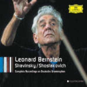 CD The Complete Recordings on Deutsche Grammophon Dmitri Shostakovich , Igor Stravinsky