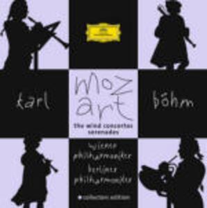 Concerti per strumenti a fiato - CD Audio di Wolfgang Amadeus Mozart,Berliner Philharmoniker,Wiener Philharmoniker,Karl Böhm