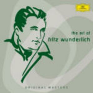 CD The Art of Fritz Wunderlich