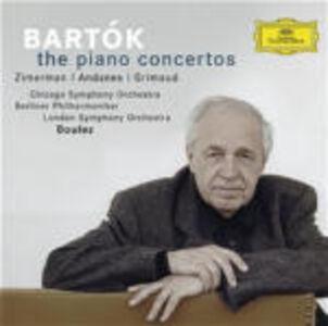 CD Concerti per pianoforte di Bela Bartok