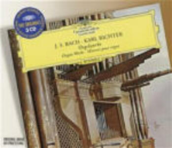 Organ Works - CD Audio di Johann Sebastian Bach,Karl Richter