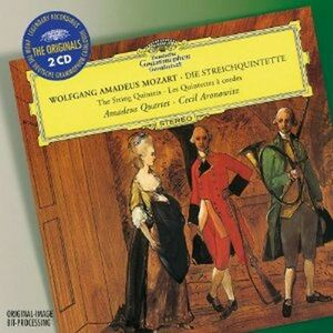 CD Quintetti per archi di Wolfgang Amadeus Mozart
