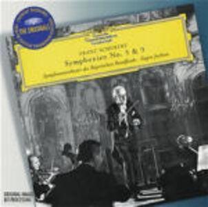 CD Sinfonie n.5, n.9 di Franz Schubert