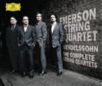 CD Quartetti per archi completi di Felix Mendelssohn-Bartholdy