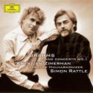 Concerto per pianoforte n.1 - CD Audio di Johannes Brahms,Berliner Philharmoniker,Simon Rattle,Krystian Zimerman