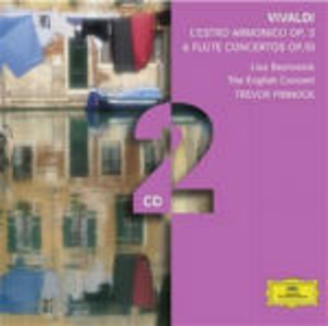 CD L'estro armonico - Concerti per flauto op.10 di Antonio Vivaldi