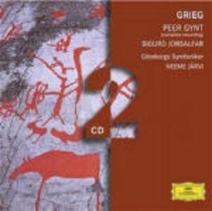 Peer Gynt - Sigurd Jorsalfar - CD Audio di Edvard Grieg,Neeme Järvi,Göteborg Symphony Orchestra