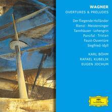 Ouvertures e Preludi - CD Audio di Richard Wagner,Herbert Von Karajan,Berliner Philharmoniker