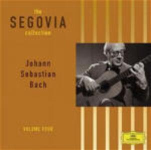 CD Segovia collection vol.4 di Johann Sebastian Bach
