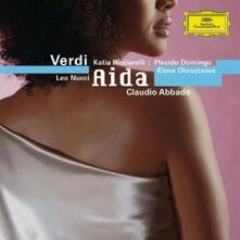 Aida - CD Audio di Giuseppe Verdi,Claudio Abbado,Nicolai Ghiaurov,Katia Ricciarelli,Leo Nucci,Elena Obraztsova,Orchestra del Teatro alla Scala di Milano