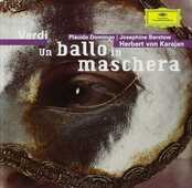 CD Un ballo in maschera Placido Domingo Giuseppe Verdi Herbert Von Karajan