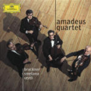 CD Quartetti per archi Anton Bruckner , Antonin Dvorak , Bedrich Smetana , Pyotr Il'yich Tchaikovsky , Giuseppe Verdi