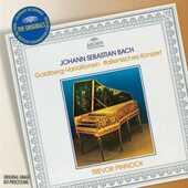 CD Variazioni Goldberg - Concerto italiano Johann Sebastian Bach Trevor Pinnock