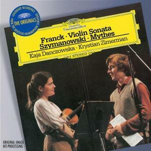CD Sonata per violino / Mythes César Franck , Karol Szymanowski