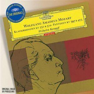 CD Sonate per pianoforte K310, K331 - Fantasie K397, K475 di Wolfgang Amadeus Mozart