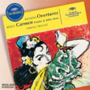 CD Ouvertures / Preludi e balletti da Carmen Georges Bizet , Gioachino Rossini