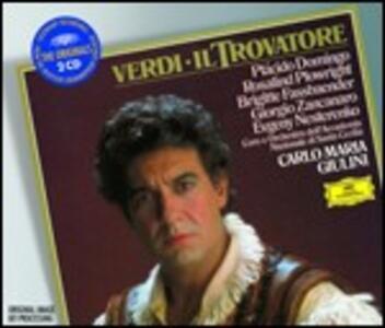 Il Trovatore - CD Audio di Placido Domingo,Brigitte Fassbaender,Alfredo Giacomotti,Evgeny Nesterenko,Giuseppe Verdi,Carlo Maria Giulini,Orchestra dell'Accademia di Santa Cecilia