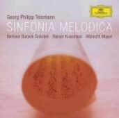 CD Sinfonia melodica Georg Philipp Telemann