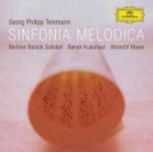 CD Sinfonia melodica di Georg Philipp Telemann