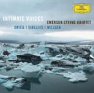 CD Intimate Voices Edvard Grieg , Jean Sibelius , Carl August Nielsen