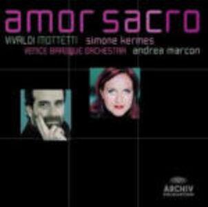 CD Amor Sacro. Mottetti di Antonio Vivaldi