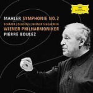 Sinfonia n.2 - CD Audio di Pierre Boulez,Gustav Mahler,Wiener Philharmoniker,Christine Schäfer,Michelle DeYoung