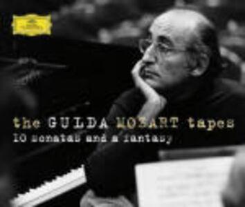 CD The Gulda Mozart Tapes. Sonate K279-284, K311, K330, K332, K333 - Fantasia K545 di Wolfgang Amadeus Mozart