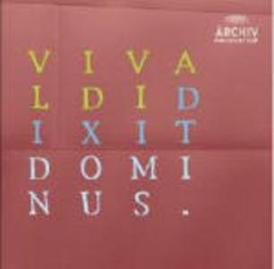 CD Dixit Dominus / Laetus Sum - Nisi Dominus - Lauda Jerusalem Antonio Vivaldi , Baldassarre Galuppi