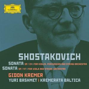 CD Sonata per violino op.134 - Sonata per viola op.147 di Dmitri Shostakovich