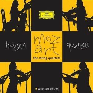 Quartetti completi - CD Audio di Wolfgang Amadeus Mozart,Hagen Quartett