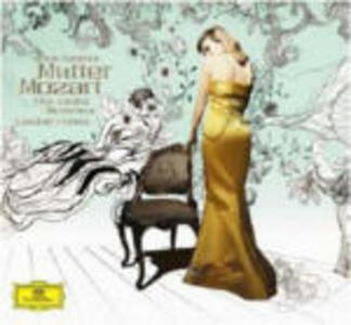 Sonate per violino - CD Audio di Wolfgang Amadeus Mozart,Anne-Sophie Mutter