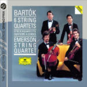 CD 6 Quartetti per archi di Bela Bartok