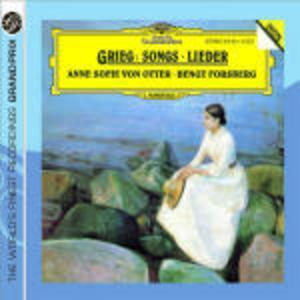 CD Songs di Edvard Grieg