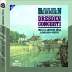 Concerti di Dresda - CD Audio di Reinhard Goebel,Johann David Heinichen,Musica Antiqua Köln