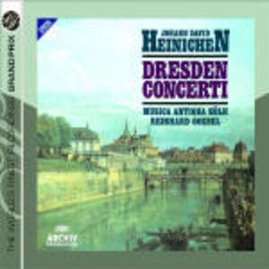 CD Concerti di Dresda di Johann David Heinichen