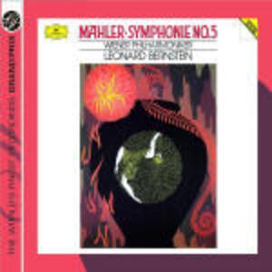 Sinfonia n.5 - CD Audio di Leonard Bernstein,Gustav Mahler,Wiener Philharmoniker