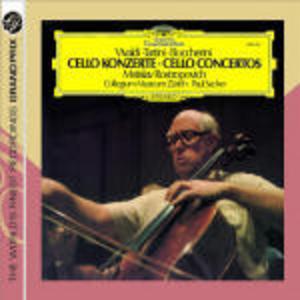 CD Concerti per violoncello Luigi Boccherini , Antonio Vivaldi , Giuseppe Tartini