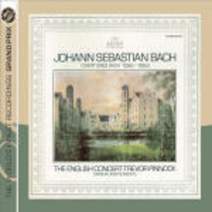 CD Suites per orchestra n.1, n.2, n.3, n.4 di Johann Sebastian Bach