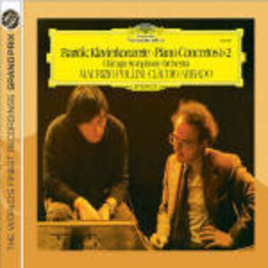 CD Concerti per pianoforte n.1, n.2 di Bela Bartok