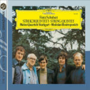 CD Quintetti per archi di Franz Schubert