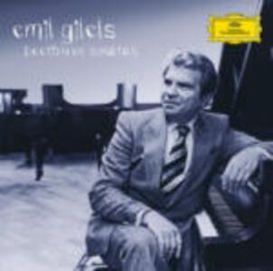 Sonate per pianoforte complete - CD Audio di Ludwig van Beethoven,Emil Gilels