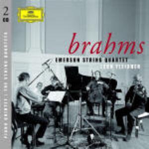 CD 3 Quartetti per archi - Quintetto per pianoforte di Johannes Brahms