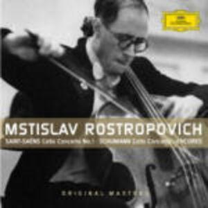 Foto Cover di Early Recordings, CD di Mstislav Rostropovich, prodotto da Deutsche Grammophon