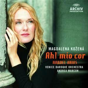 CD Ah! Mio cor di Georg Friedrich Händel